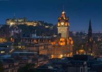 Вечерний Эдинбург (фото Даниила Коржонова)