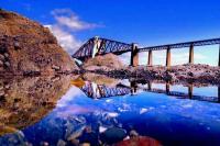 Железнодорожный мост через залив Ферт-оф-Форт (фото Nicolas Valentin)