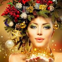 Быть красивой в Новый год