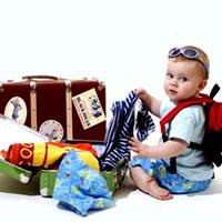 Собираемся в поездку с маленьким ребенком