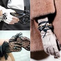 Перчатки: очаровательная практичность