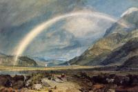 William Turner (������ Ҹ����). Kilchern Castle, with the Cruchan Ben Mountains, Scot...
